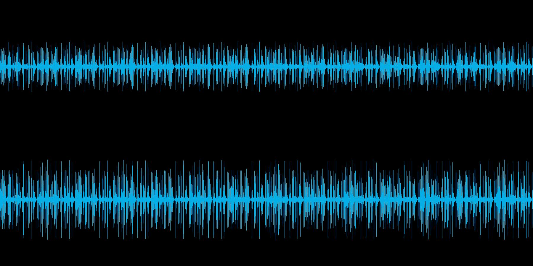 静かな奇妙・不思議・不可解なピアノ曲の再生済みの波形