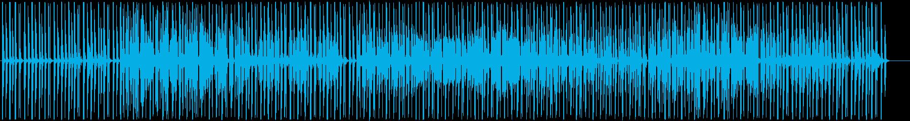 ゆったりキュートなChill-Hopの再生済みの波形