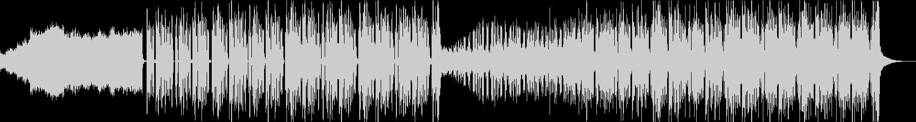 夜の趣があるフューチャーソウル風BGMの未再生の波形