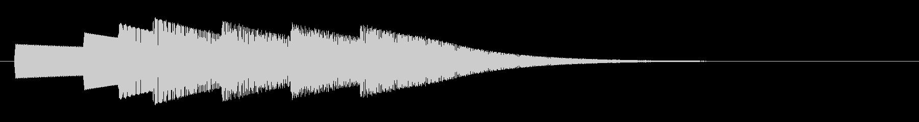 KANT入店音ジングル010142の未再生の波形