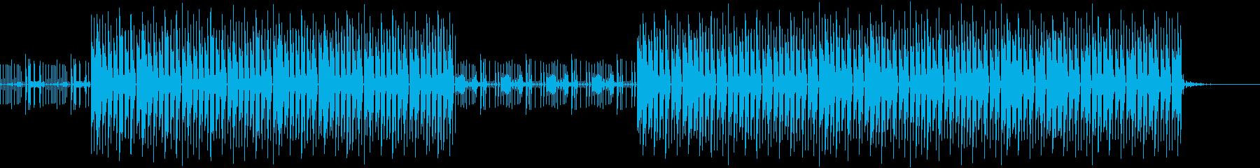 パーカッションハウス・おしゃれ爽やか軽快の再生済みの波形