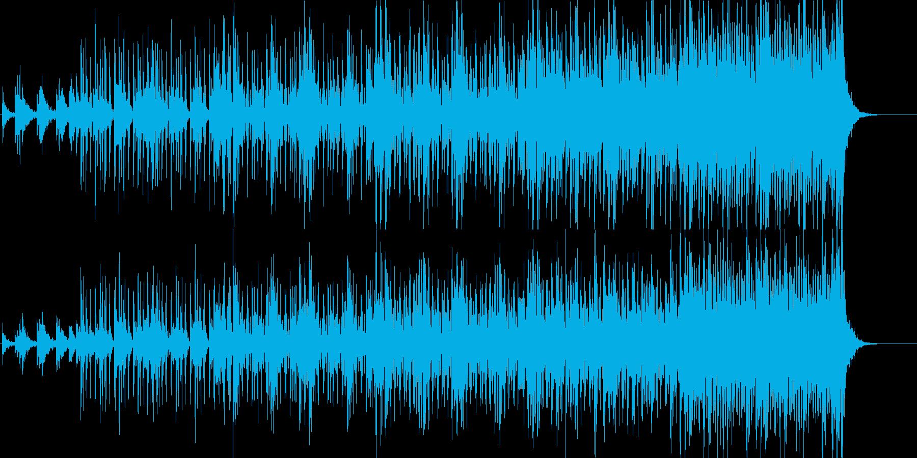 決戦始まりを予感させるロックオーケストラの再生済みの波形