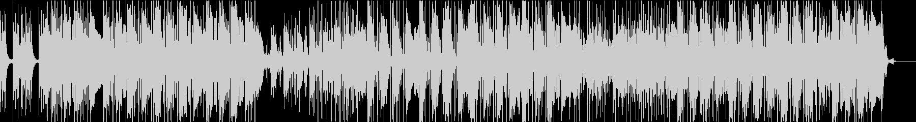 シンセでテンションの上がる曲の未再生の波形