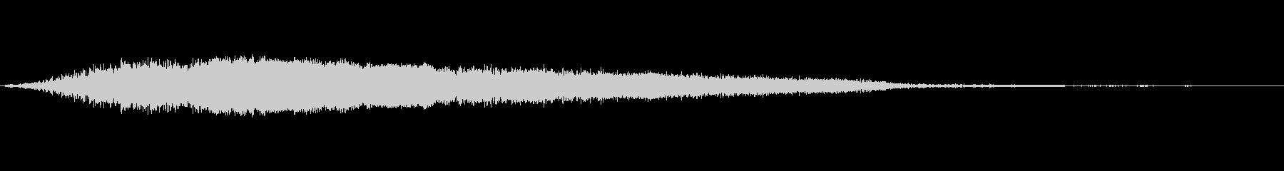 カートゥーン ホイッスル おもちゃ 04の未再生の波形