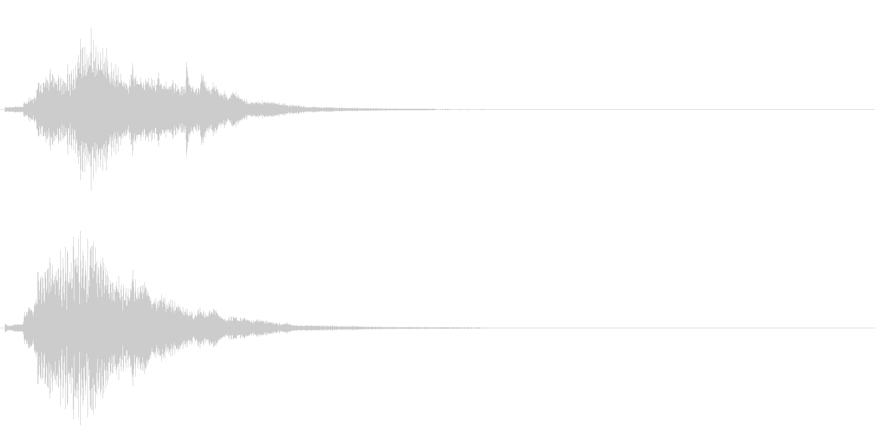 ハープ・上昇_9-2の未再生の波形