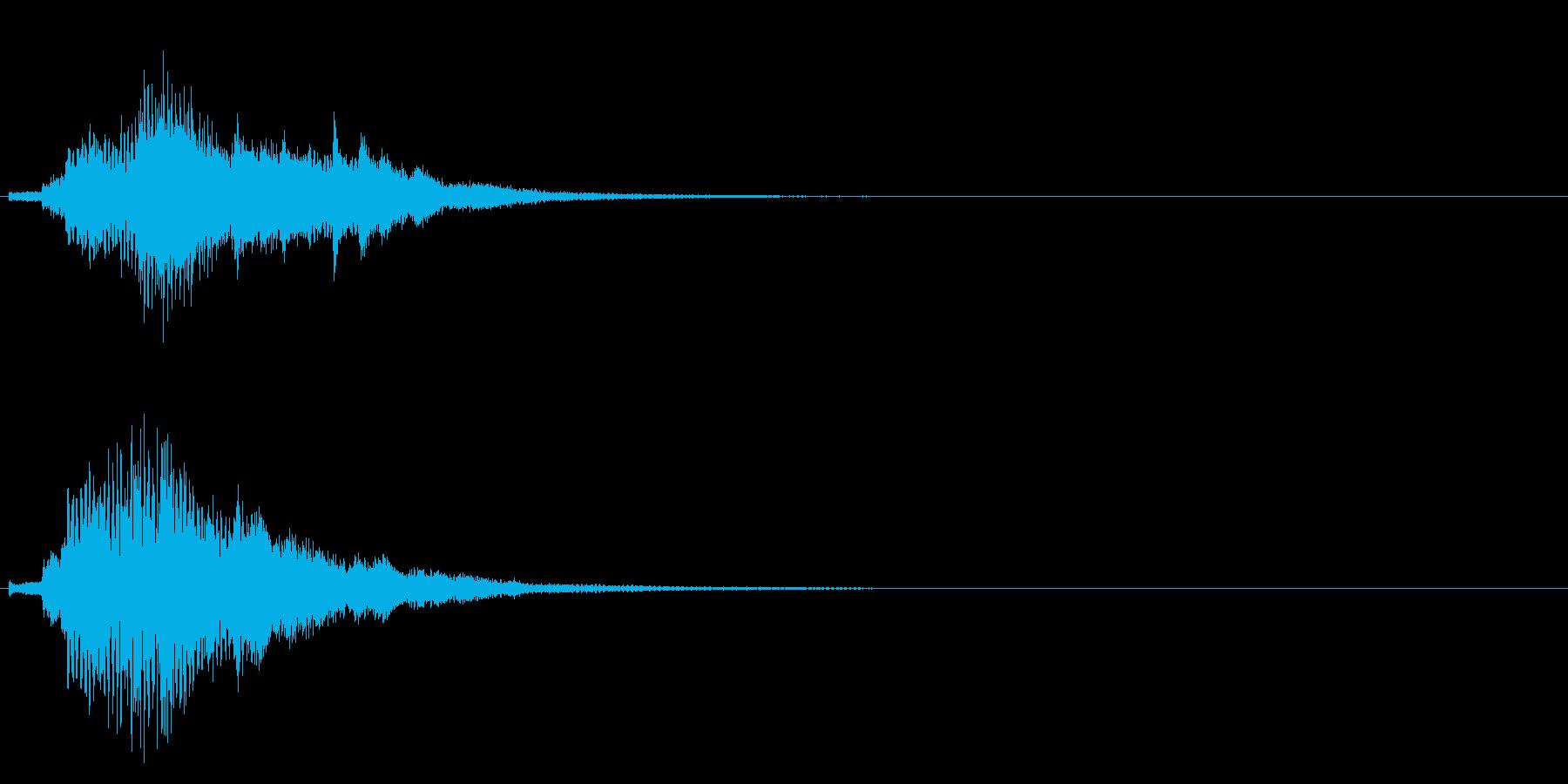 ハープ・上昇_9-2の再生済みの波形