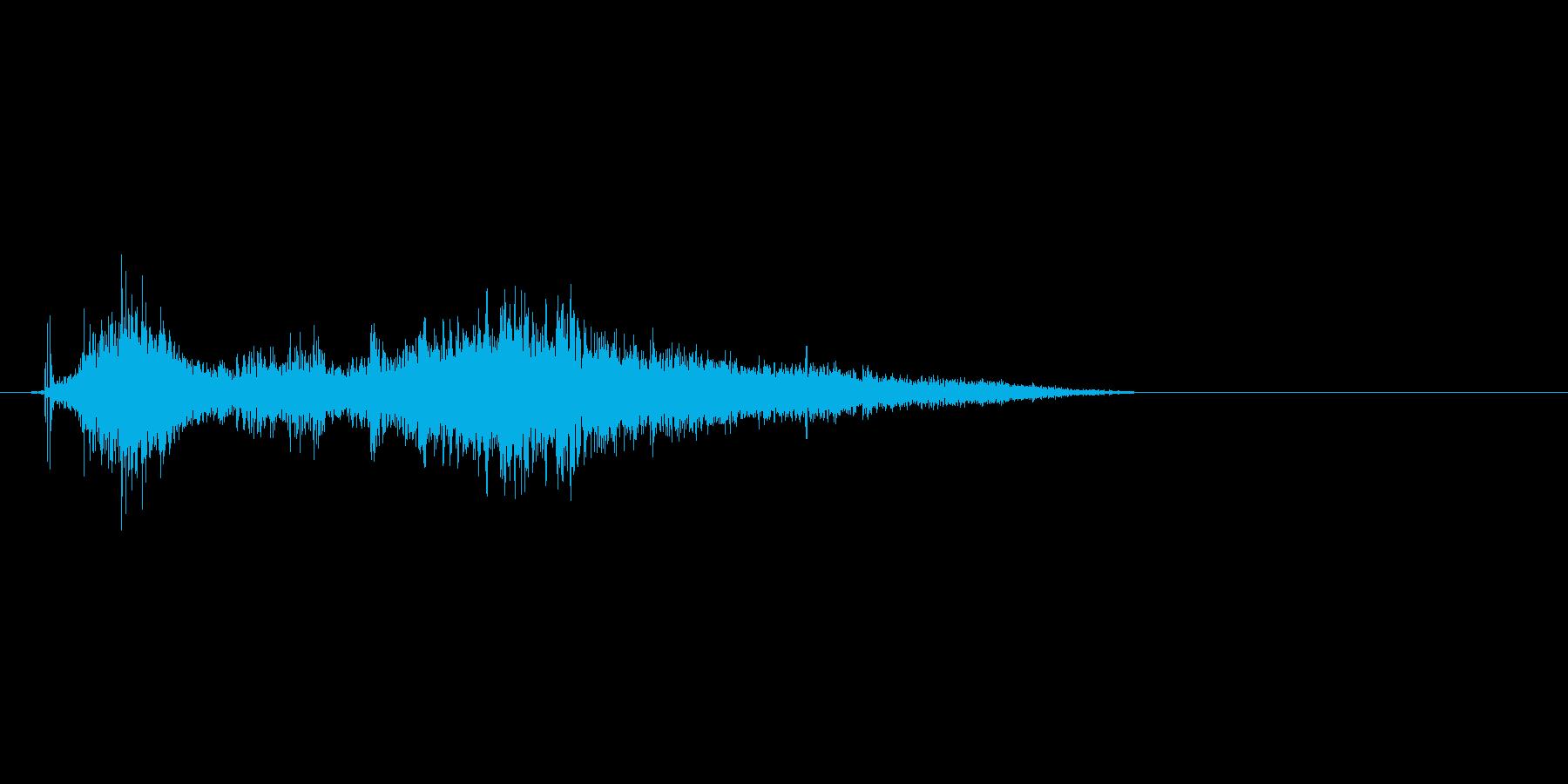 シュゴー。ワープや魔法攻撃に最適なSE…の再生済みの波形
