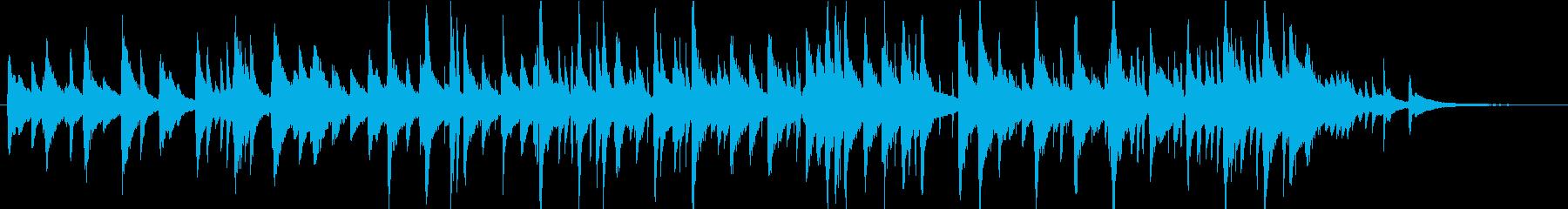 おやすみ前のジャズバラード、ピアノトリオの再生済みの波形