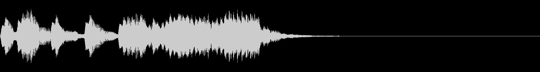 レベルアップ音/かわいいゲーム音【3】の未再生の波形