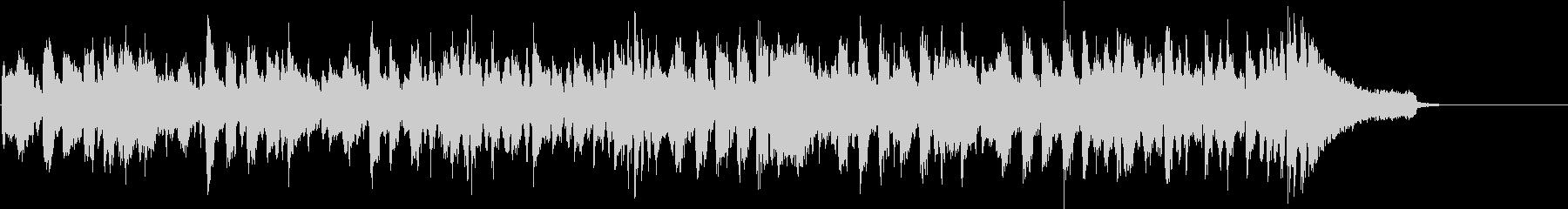 クールでダンサブルなBGM スキャットの未再生の波形