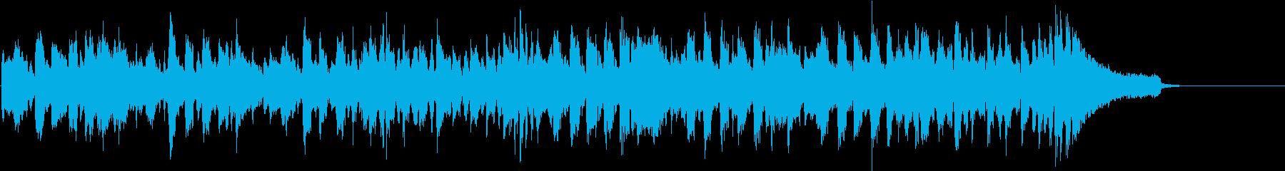 クールでダンサブルなBGM スキャットの再生済みの波形