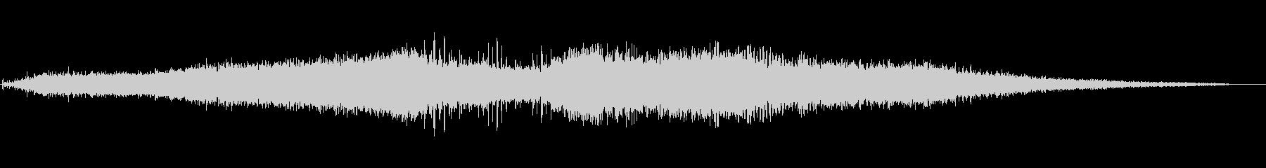 電気手ドリル:ドリルシングルホール...の未再生の波形