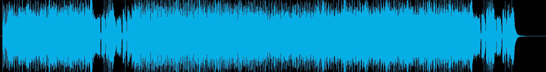 不気味、DARK、激しい、HARD系音楽の再生済みの波形