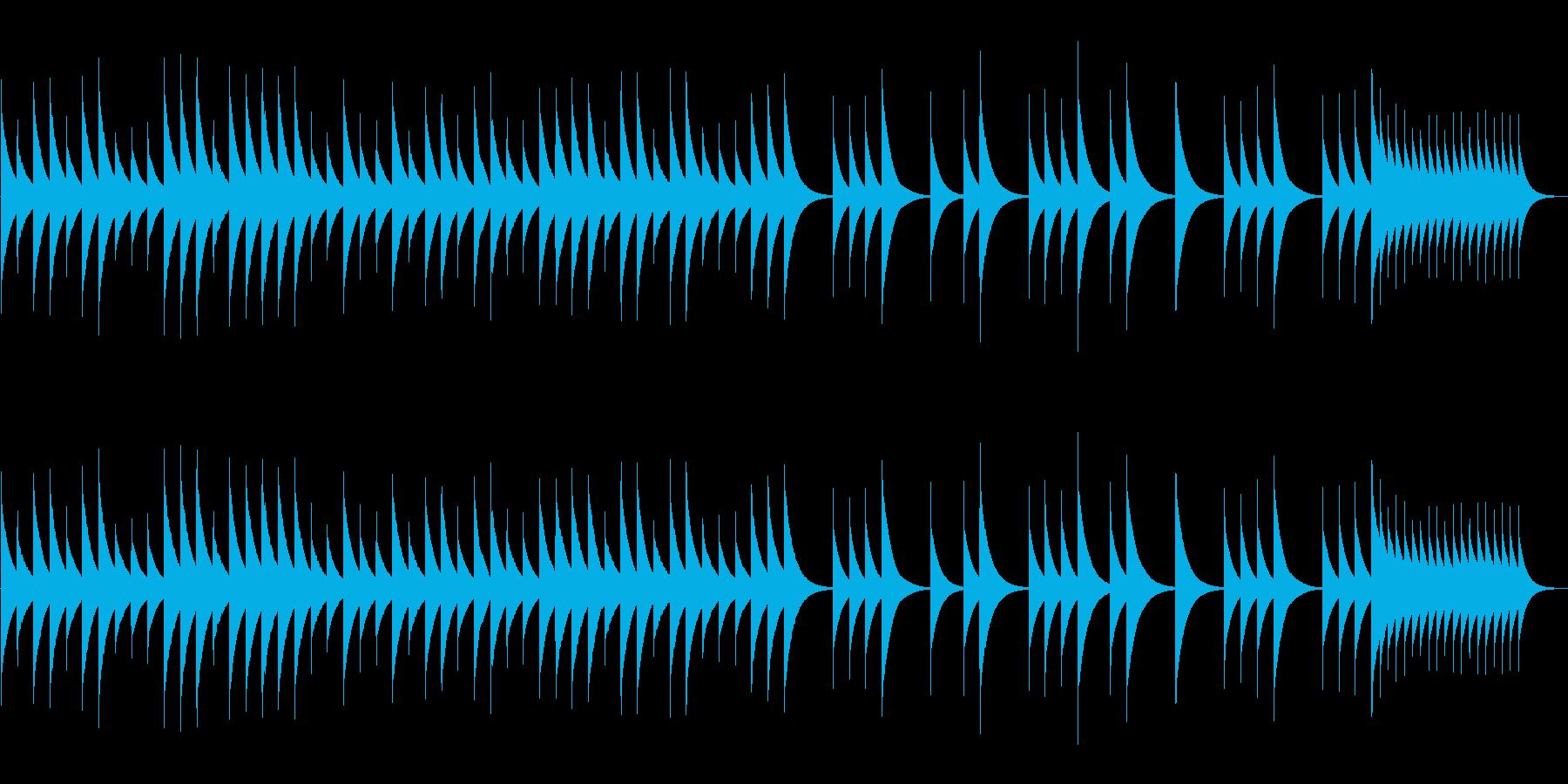 追憶【オルゴール・1ループぴったり】の再生済みの波形