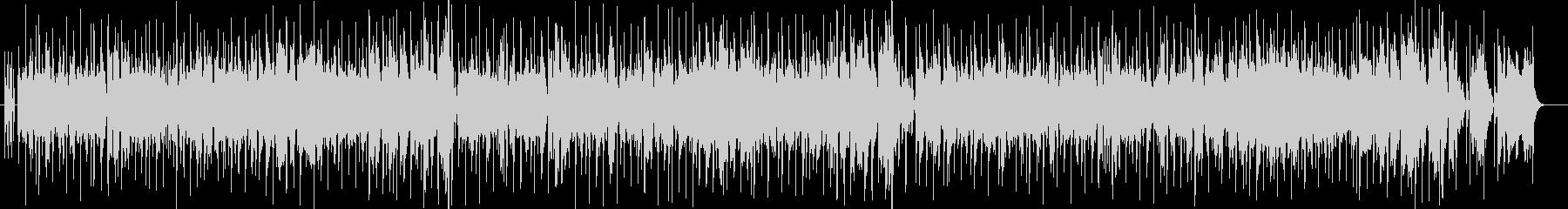 ファンキーなオルガンジャズヒップホップの未再生の波形