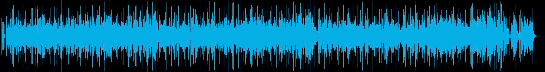ファンキーなオルガンジャズヒップホップの再生済みの波形