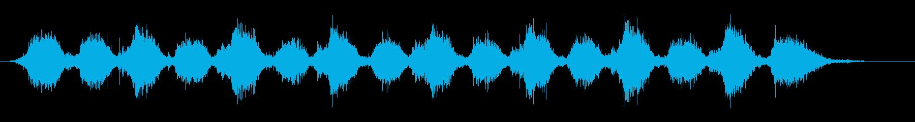 ゴシゴシ(お風呂掃除デッキブラシの音)Aの再生済みの波形