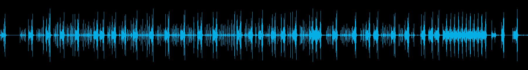 電子:数字の入力、涙紙、オフィス機...の再生済みの波形