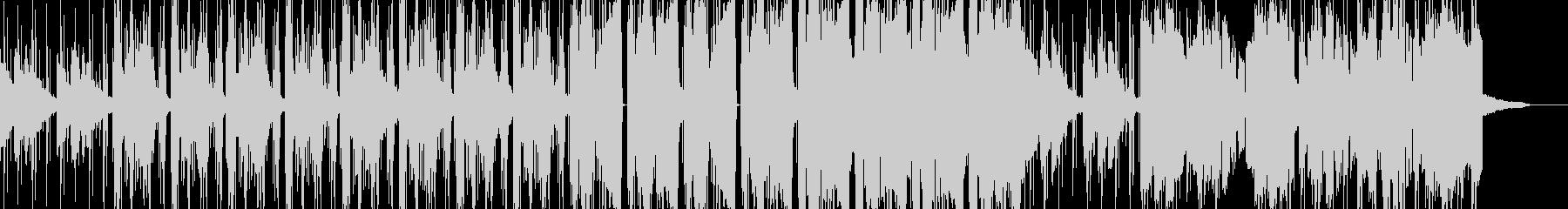 幻想的なヒップホップ風エレクトロニカの未再生の波形