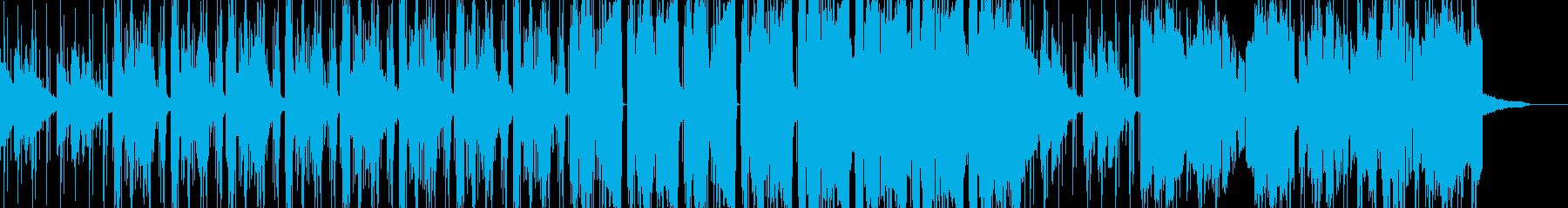 幻想的なヒップホップ風エレクトロニカの再生済みの波形