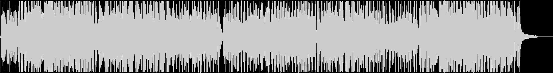 オーガニックなサウンド、アコースティックの未再生の波形