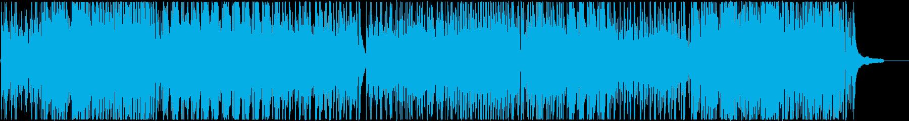オーガニックなサウンド、アコースティックの再生済みの波形