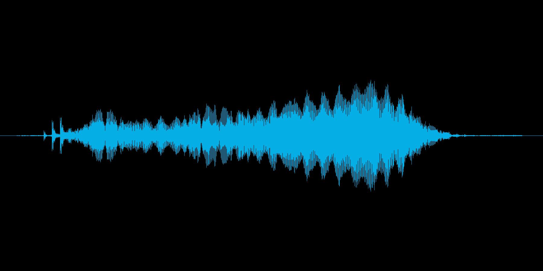 ぷう〜んの再生済みの波形