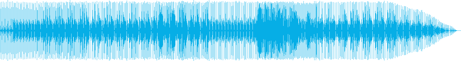 妖しい夜/ビリー・ジーン風/8ビートの再生済みの波形