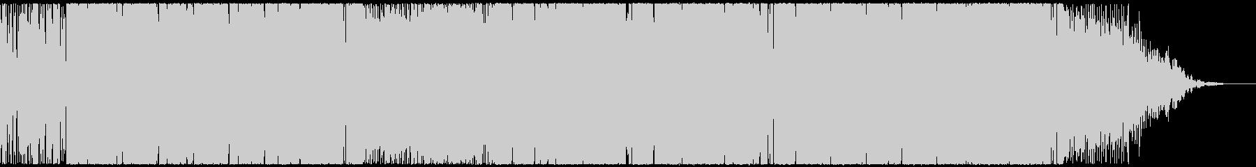 アグレッシブでパワフルなEDM CM映像の未再生の波形