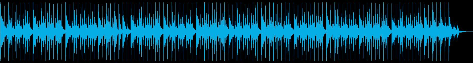 配信や映像 BGMにほのぼの優しい日常系の再生済みの波形