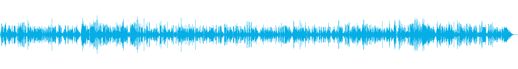 JAZZ|お洒落★高級感を演出|ピアノ の再生済みの波形