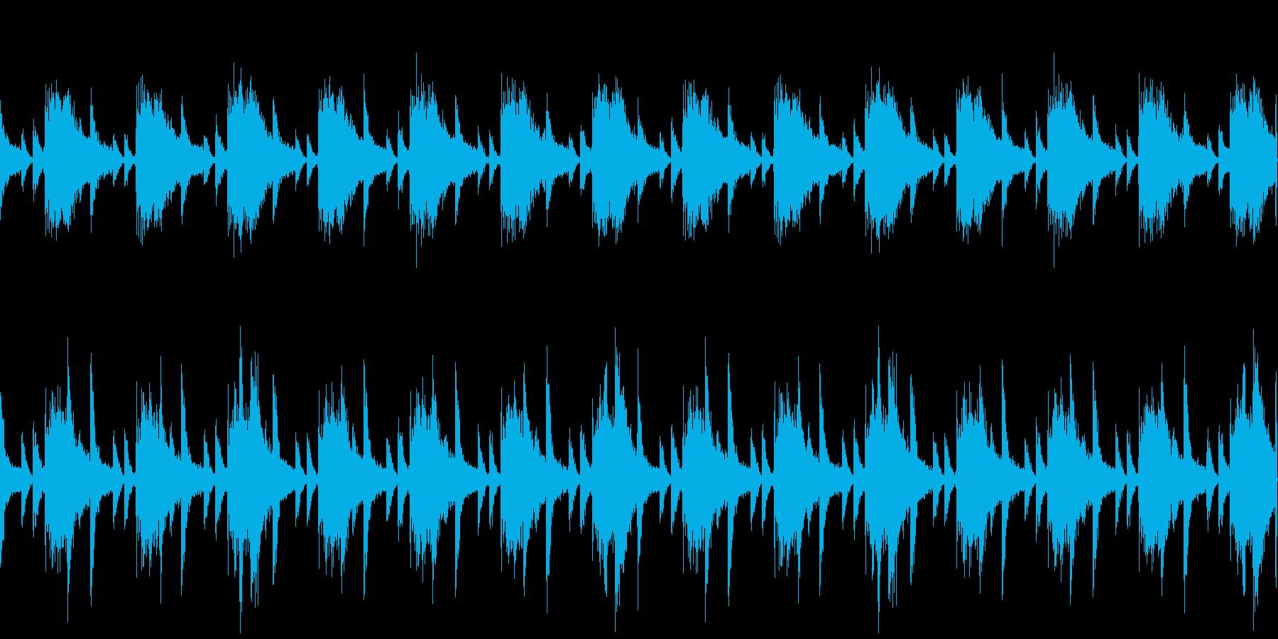 ヘッドホンから音漏れの再生済みの波形