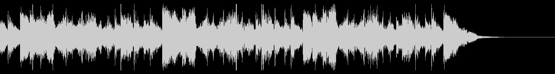 不気味なアラビアン調のアングラ系サウンドの未再生の波形