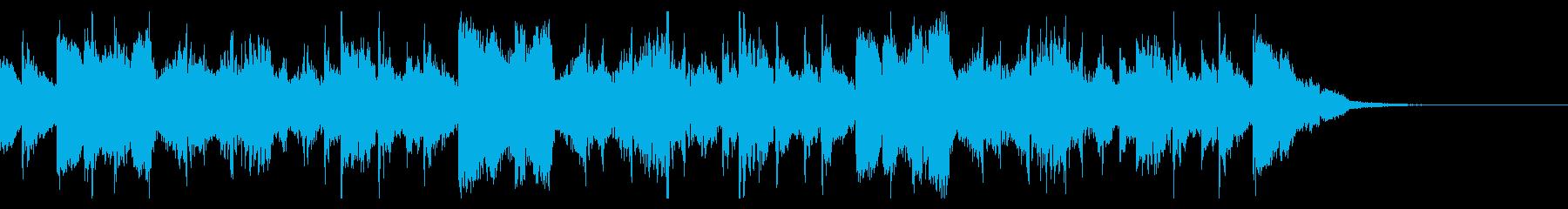不気味なアラビアン調のアングラ系サウンドの再生済みの波形