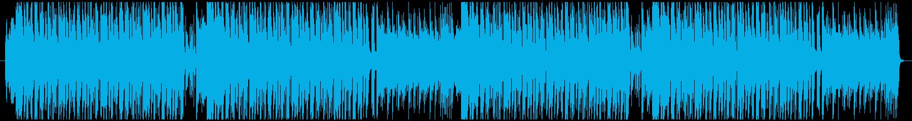 サンバ・カーニバルのBGMの再生済みの波形