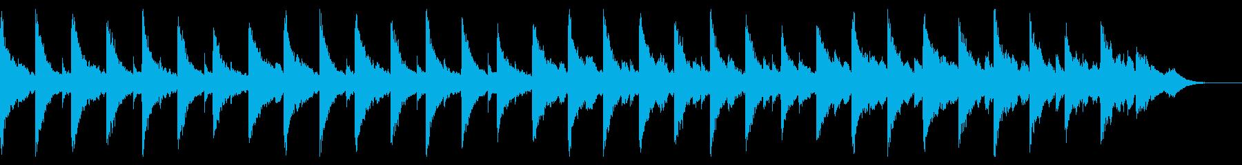 生音・不穏・不安なピアノとオーケストラの再生済みの波形