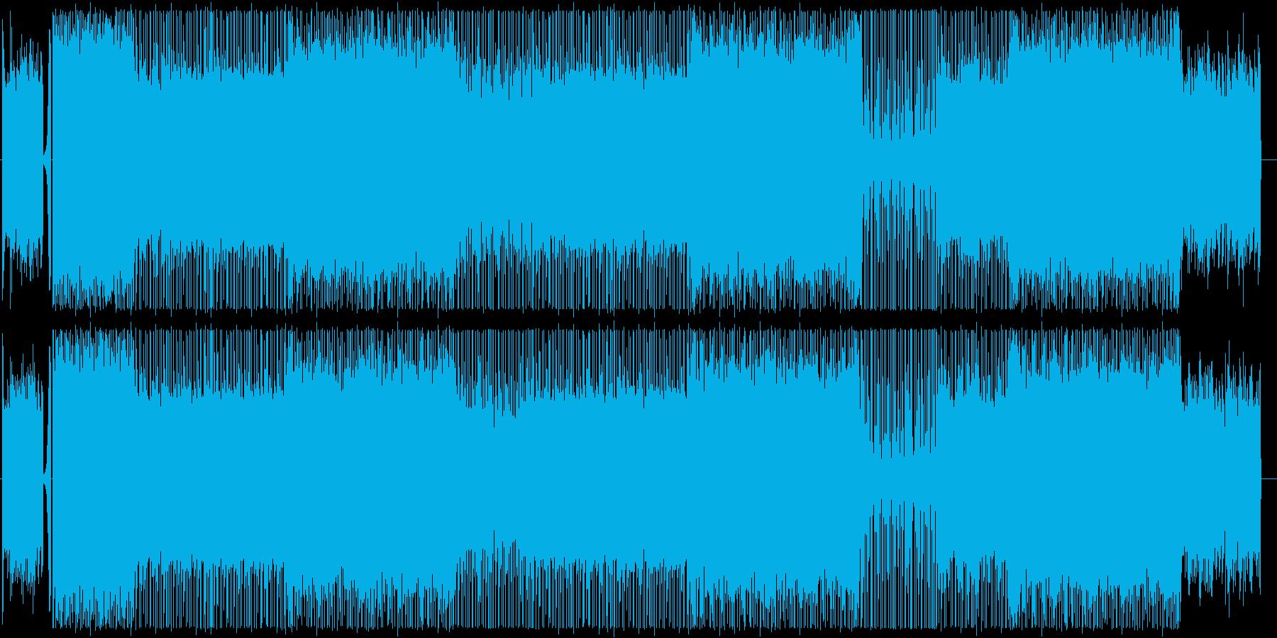 ピアノ/ヒップホップ/サイバー/#1の再生済みの波形