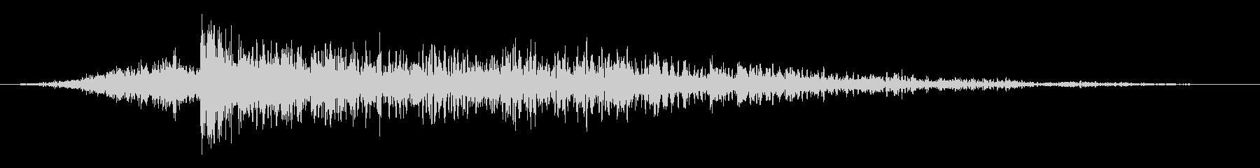 ハードインパクトアンドランブル3の未再生の波形