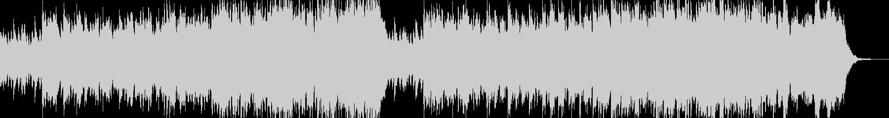 奇妙で陰気なダークサウンドの未再生の波形
