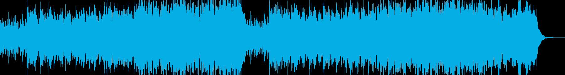 奇妙で陰気なダークサウンドの再生済みの波形
