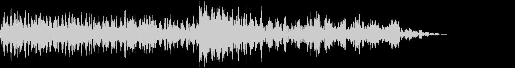 ギューン:テープストップの音(長)の未再生の波形