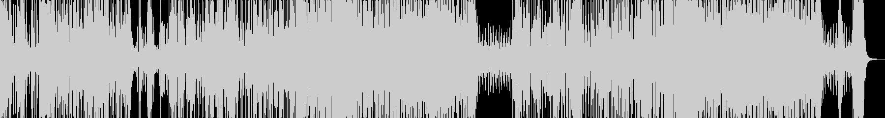 美メロを奏でる三味線 和風ハウスの未再生の波形