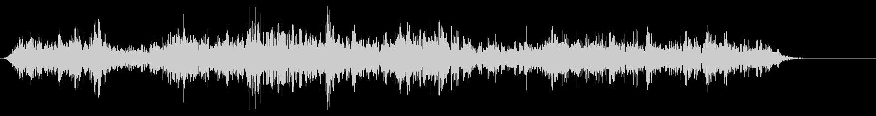 [生音]ビー玉が転がる01(ロング)の未再生の波形