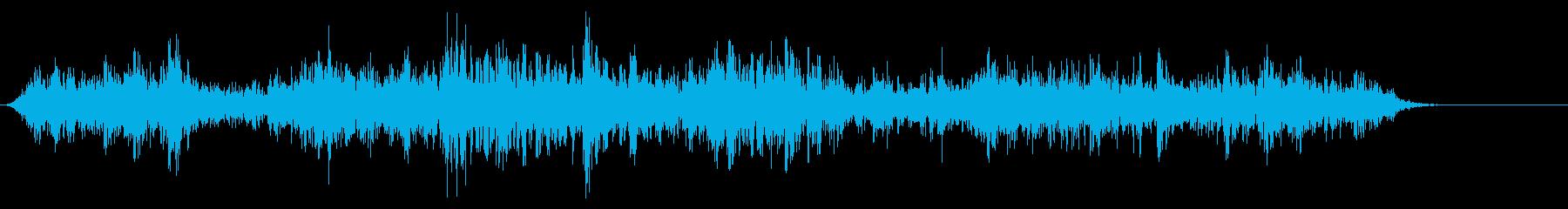 [生音]ビー玉が転がる01(ロング)の再生済みの波形