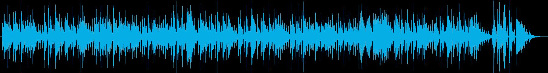 ハッピーバースデー JAZZピアノデュオの再生済みの波形