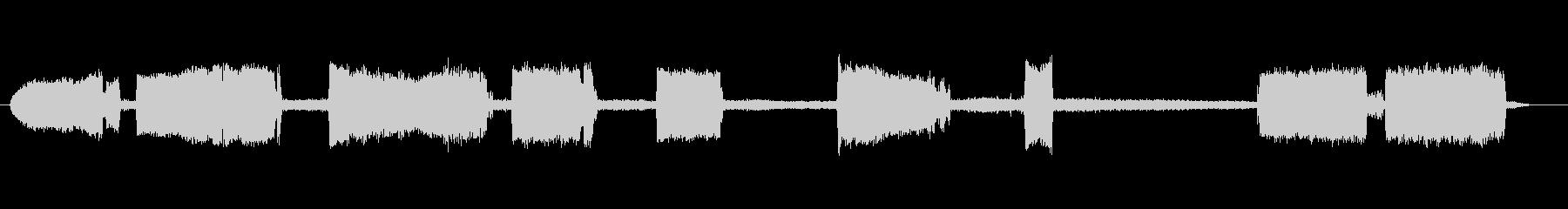 外気ハンマーの未再生の波形