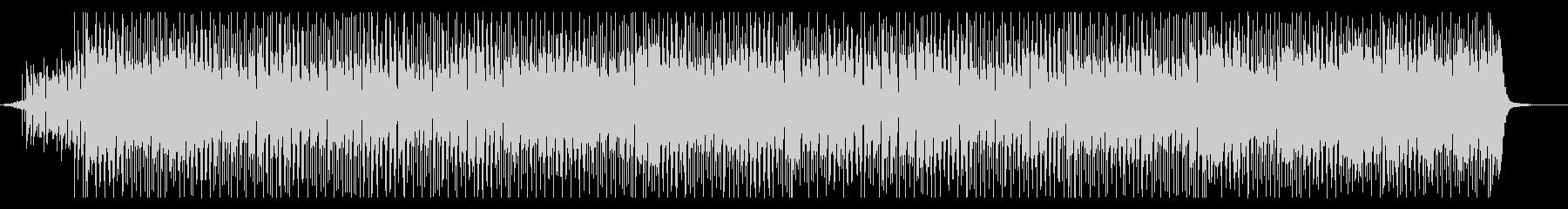 明るめシャッフル  ポップロックなBGMの未再生の波形