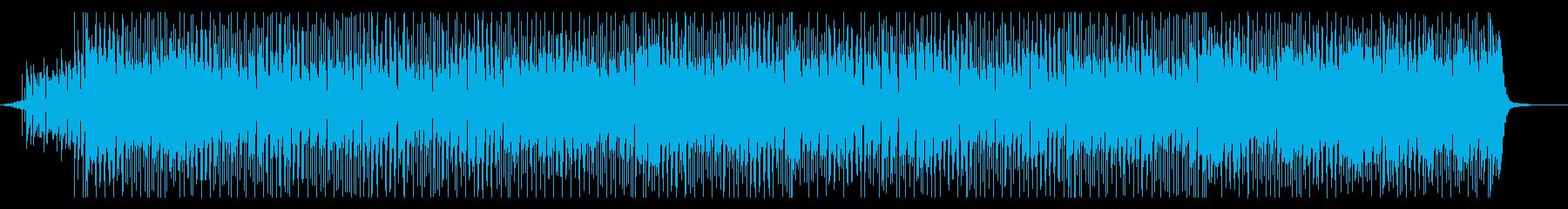 明るめシャッフル  ポップロックなBGMの再生済みの波形