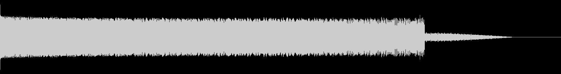 ★ファミコン風 やられた時の効果音の未再生の波形