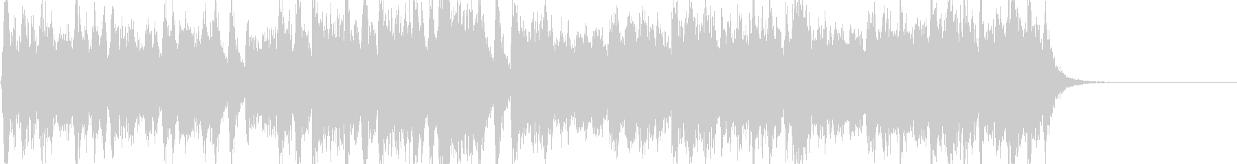 威風堂々 エルガー 第1番 冒頭の未再生の波形